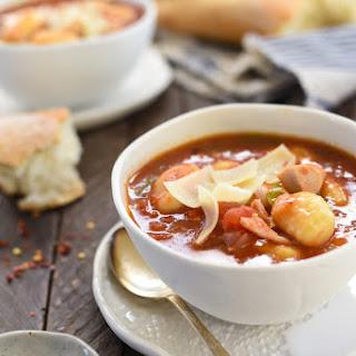 Turkey & Gnocchi Arrabiata Soup