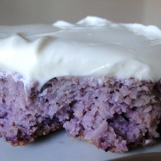 Purple Cake.