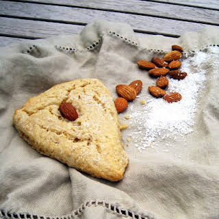 Whole Wheat Coconut Almond Scones.
