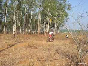 Photo: The race leader Kiran Kumar Raju in the final lap..
