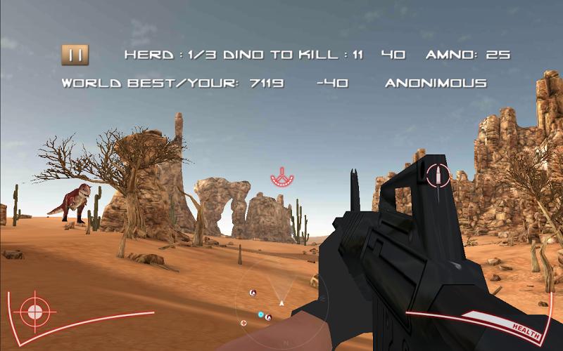 Скриншот Dino Hunter