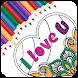 Mandala Coloring : Love Colorfy