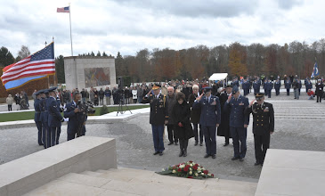 Photo: Veterans Day ceremony 11 November 2010. Photo by Nico Schroeder.