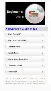 Sia Beginner Guide - náhled