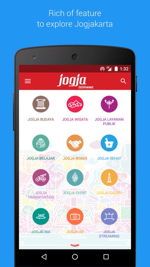 aplikasi informasi wisata Jogja Istimewa