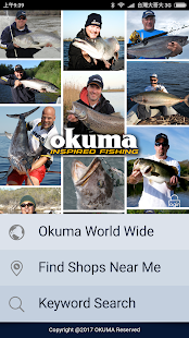 Okuma Tackle Shop Location - náhled