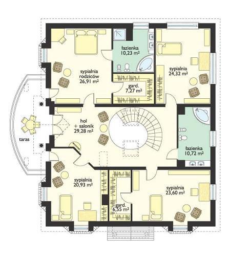 Ambasador 2 - Rzut piętra