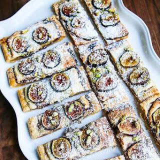 Gluten Free Fig Frangipane Tart