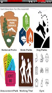 Park Finder - náhled