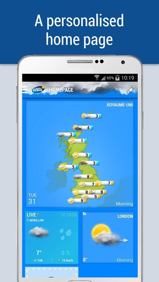 Weather Crave - screenshot