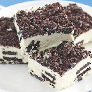 Cookies and Cream Ice Cream Cake.
