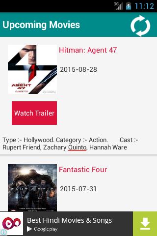 My Movie:Movie Trailers Info