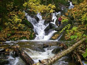 Photo: Nice cascade on Waterbury Trail.