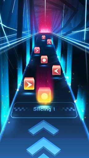 Dancing Blade [Mod] Apk - Slicing EDM rhythm game