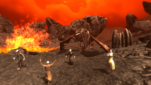 Wyvern Simulator 3D