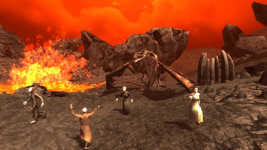 android Wyvern Simulator 3D Screenshot 0