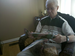 Photo: Bill flew in DC3's