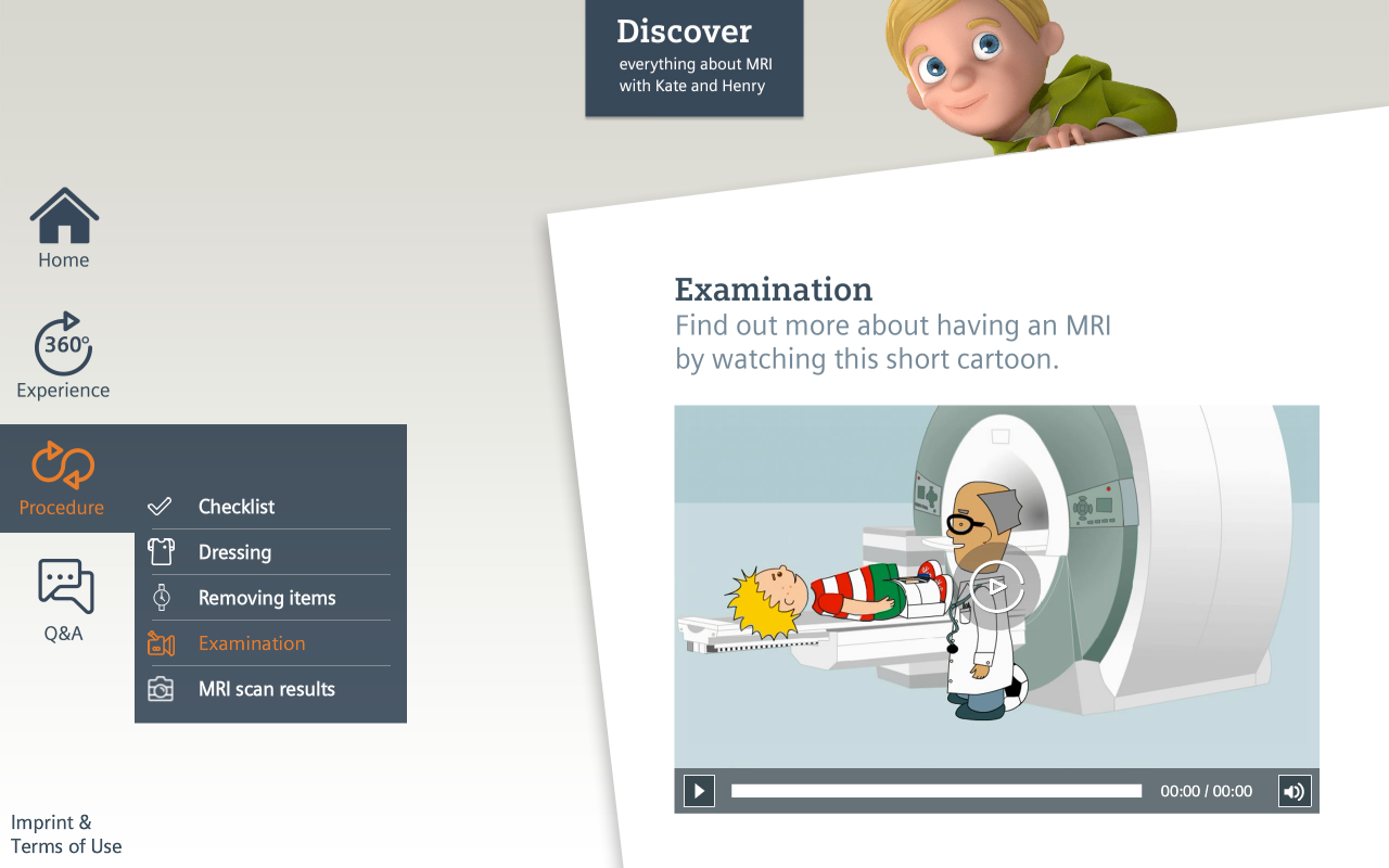 MRI Scan Experience- screenshot