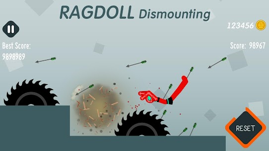 Ragdoll Dismounting 1.55 MOD + APK + DATA Download 1