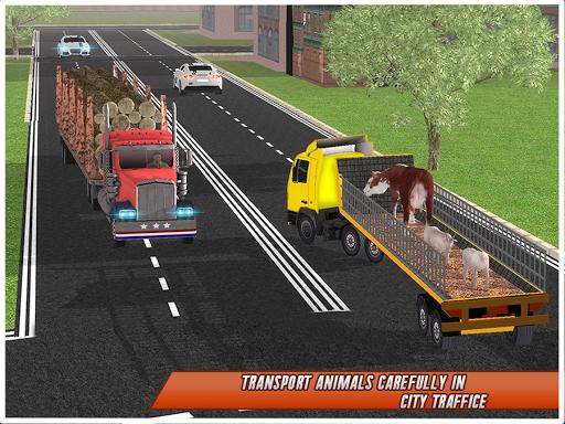 Farm Animal Transport Truck 2.5 screenshots 16