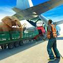 Animal Truck Transporter Cargo Airplane icon