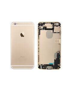 iPhone 6 Plus -Back Housing with small parts Original Pulled Gold