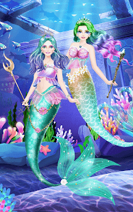 Mermaid-Princess-Beauty-Salon 6