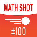 Math Shot Add and Subtract within 100 icon