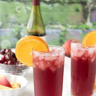 Summer Solstice Wine Cocktail.
