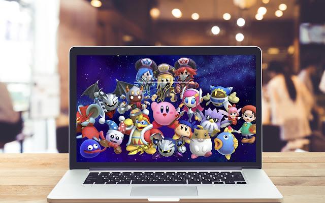 Kirby Star Allies HD Wallpapers New Tab Theme