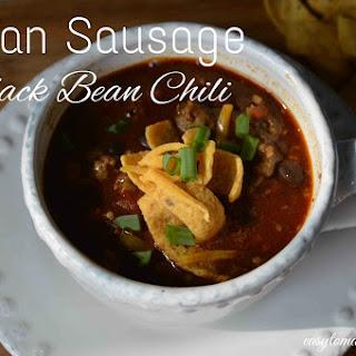 Italian Sausage Black Bean Chili