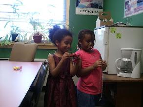 Photo: Kaleya and friend - 7/15/11