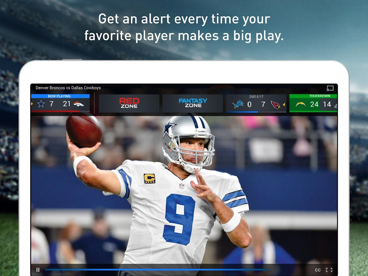 NFL Sunday Ticket for Tablets- screenshot