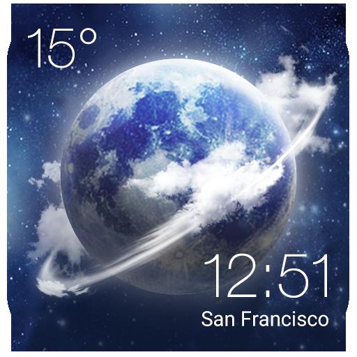 天氣App|HD時計&ライブ天気ウィジェット LOGO-3C達人阿輝的APP