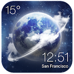 HD Transparent Weather Clock❈ 2.0_release Apk