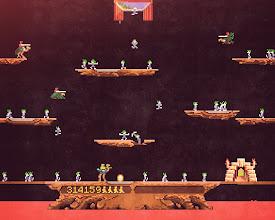 Photo: Joust (The Lemmings Infection)  https://en.wikipedia.org/wiki/Joust_(video_game) https://en.wikipedia.org/wiki/Lemmings_(video_game)