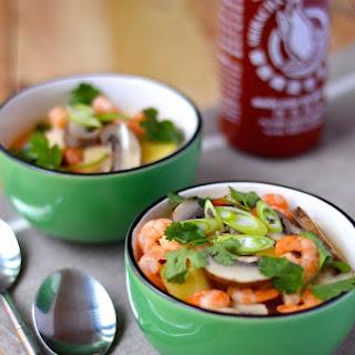 Thai Coconut Soup (Tom Kha)