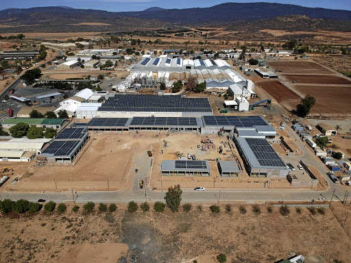 Equipped: Solar panels cover the roof of the Cedar Mill Mall in Clanwilliam. Picture: SUPPLIED