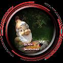 Cute Garden Gnome Design icon