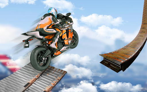 Bike Impossible Tracks Race: 3D Motorcycle Stunts 2.0.1 screenshots 1