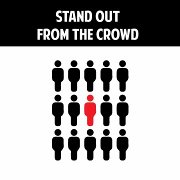 Specialized training in standing out from the crowd.
