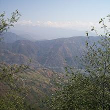Photo: Ein letzter Blick zurück auf den Himalaya Hauptkamm