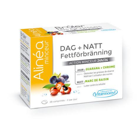 Fettförbränning DAG + NATT Kosttillskott
