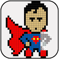 Superhero Coloring : Color By Number APK