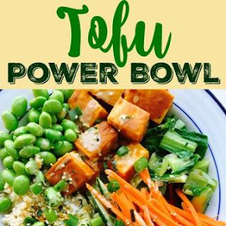 Sriracha Peanut Tofu Power Bowl Recipe