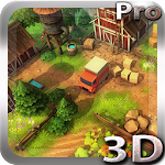Cartoon Farm 3D Live Wallpaper Icon