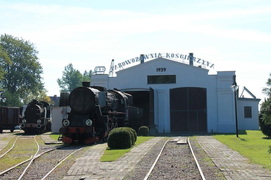 Kościerzyna - Skansen Parowozownia