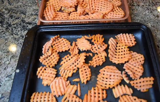 Copper Crisper Frozen Fries Test 2