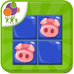 Animals Memory Game Icon