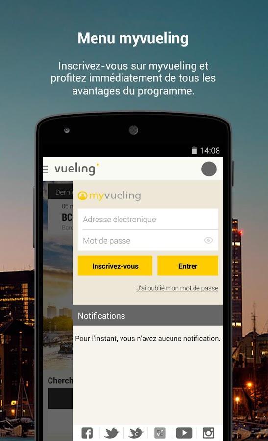 Vueling - Vols pas chers– Capture d'écran